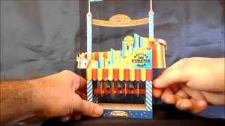Automata Carnival Toy, the Rolling Reels Circus Papercraft