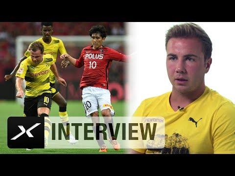 Mario Götze über sein Comeback, Ziele und Peter Bosz | Borussia Dortmund | Bundesliga