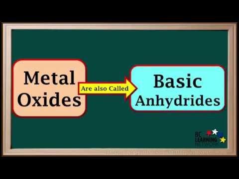 WCLN - Metal Oxides - Chemistry