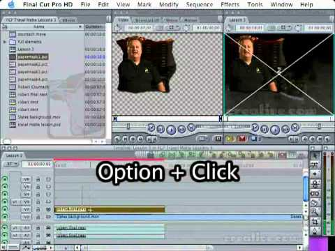 Travel Mattes In FCP: Part Three, Enhance Your Interviews