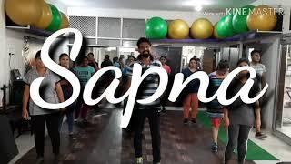 Bandook Chalegi SAPNA CHAUDHARY DANCE ZUMBA CHOREOGRAPHY fitness Stone Heart Event kota 9785291022