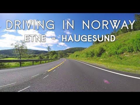 Driving in Norway: Etne - Haugesund