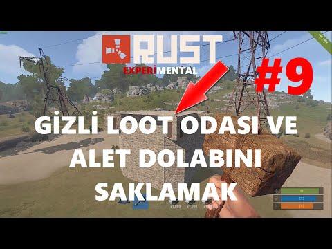 Ev Tasarımı ( Base Design ) Alet Dolabını Saklamak Ve Gizli Loot Odası | Rust Türkçe | Bölüm #9