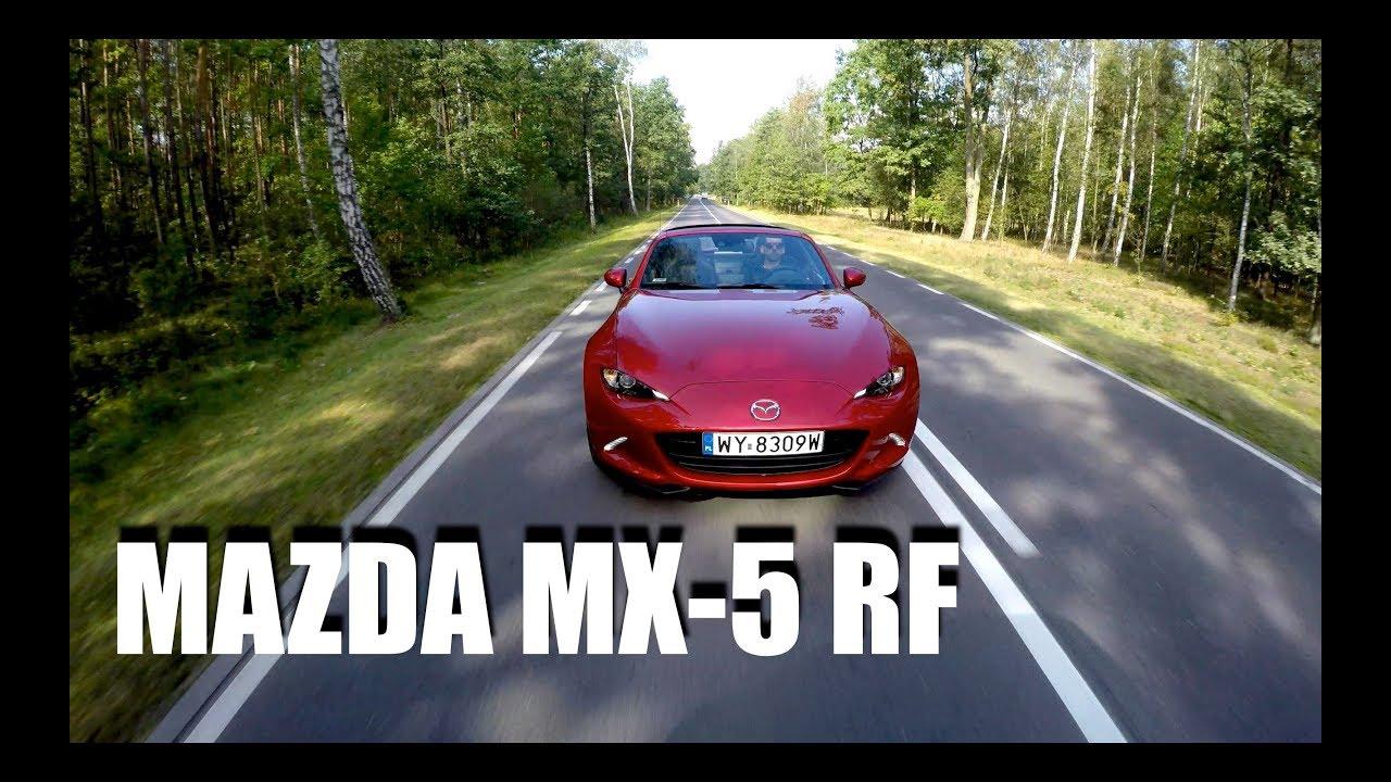 Mazda MX-5 RF (PL) – roadster na deszczowy dzień