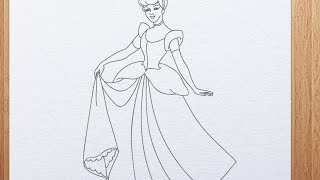 How to draw Cinderella(http://www.kidsarthub.com/ Our animated drawing lessons were specially designed for kindergarten and elementary school children. Kids Art Hub is YouTube ..., 2014-07-16T05:38:51.000Z)