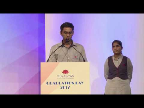 VidyaGyan Graduation Day 2017 | Saurabh