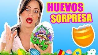 ABRIENDO HUEVOS CON SORPRESAS! Play con Sandra I Huevos de Pascua I Easter Eggs I SandraCiresArt