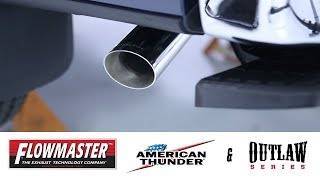 In the Garage™ with Performance Corner™: Flowmaster American Thunder® & Outlaw® Cat-Back Exhausts