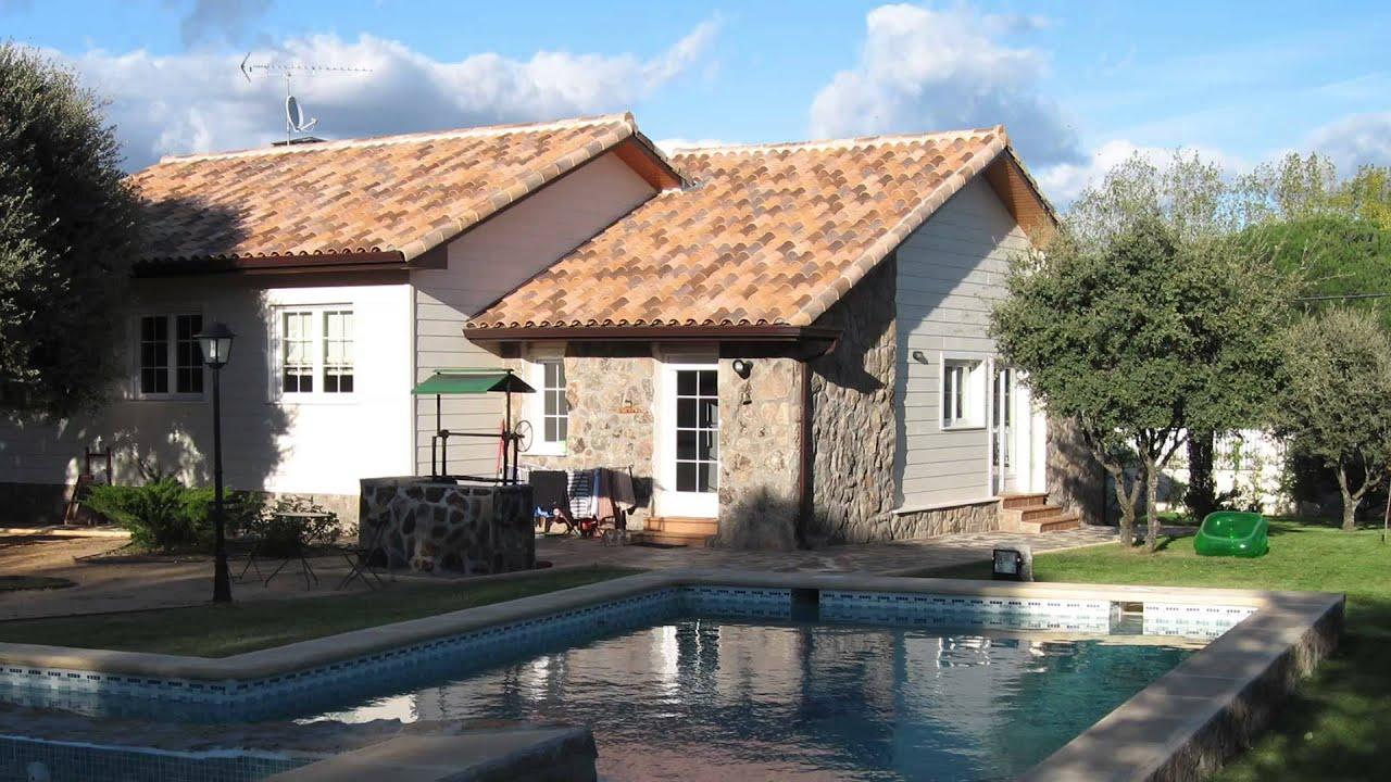 Casas de una planta fachadas e interiores youtube for Casas e interiores