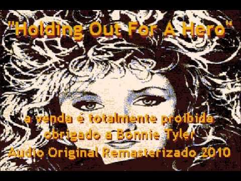 Bonnie Tyler - Holding  out for a hero - Full HQ Karaoke - Made in Brazil
