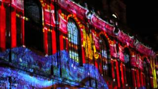 Chinese New Year in Manchester - 2015 New Year Light Show, St Ann's Church