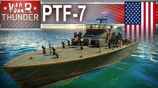 PTF-7 - amerykaniec fraguje na wodzie - War Thunder