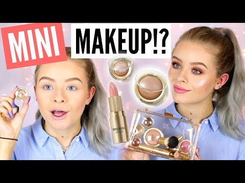 TESTING MINIATURE MAKEUP!? AD | sophdoesnails