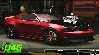 Ford Mustang GT 2013 - RTR Tuning | Gameplay Need For Speed Underground 2 Mod Spotlight