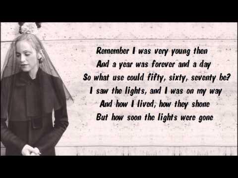 Madonna - Lament (Solo) Karaoke / Instrumental with lyrics on screen