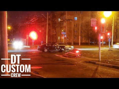 Lexus GS430 - Спас своего хозяина и погиб. ДТП в Минске.