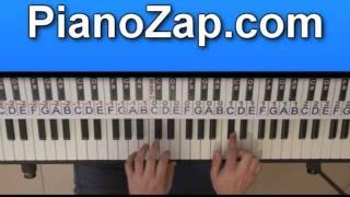 How To Play Kill My Boyfriend - Natalia Kills On Piano Tutorial