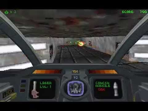 Descent [PC] [1995] Gameplay