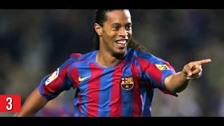 Dünyayı Şoke Eden Ronaldinhonun İNANILMAZ GOLLERİ  VE DUYGU DOLU ANLARI