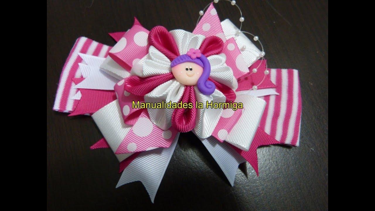 hair ribbon bows como hacer lazos f ciles mo os de