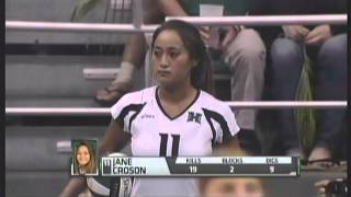 Rainbow Wahine Volleyball 2012 - #8 Hawaii Vs #6 Stanford (Part 8 of 9)