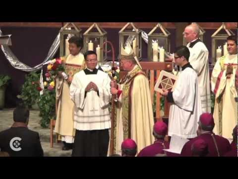 New bishop installed in Orange