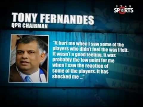 Tony Fernandes slams his QPR  players