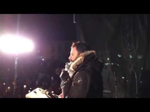 Discours d'Haroun Bouazzi à la vigile en soutien aux musulmans du Québec
