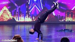 Niesamowity tancerz w arabskim Mam Talent