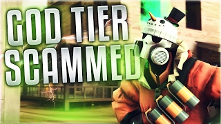 TF2 - New God Tier Unusual Scorching Flames All Class Snowmann SCAMMED!