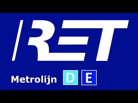Afroep - Metrolijn D E - Leuvehaven