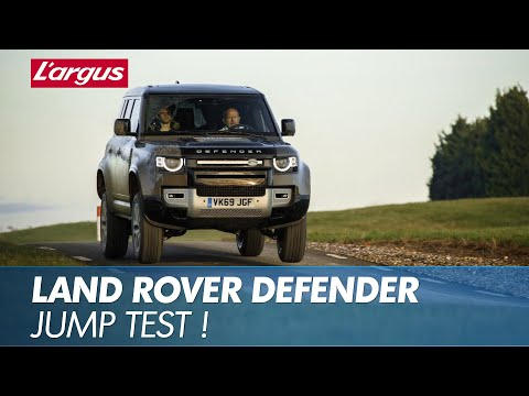 The 2020 Land Rover Defender Gets Airborne in This Rally Stage Test