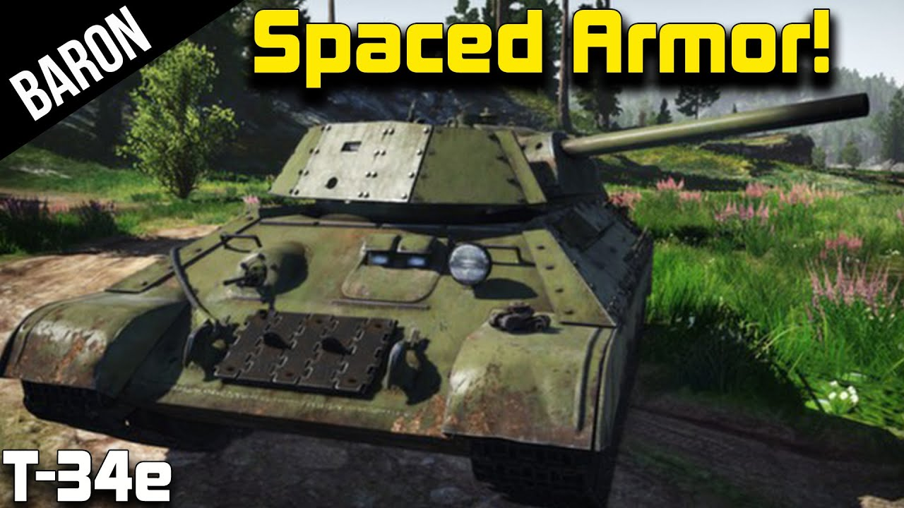 Japanese Generals War Thunder Rare Tank T 34e Rare Tank Spaced Armor Baby