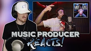 Music Producer Reacts to FaZe Rug - Goin' Live