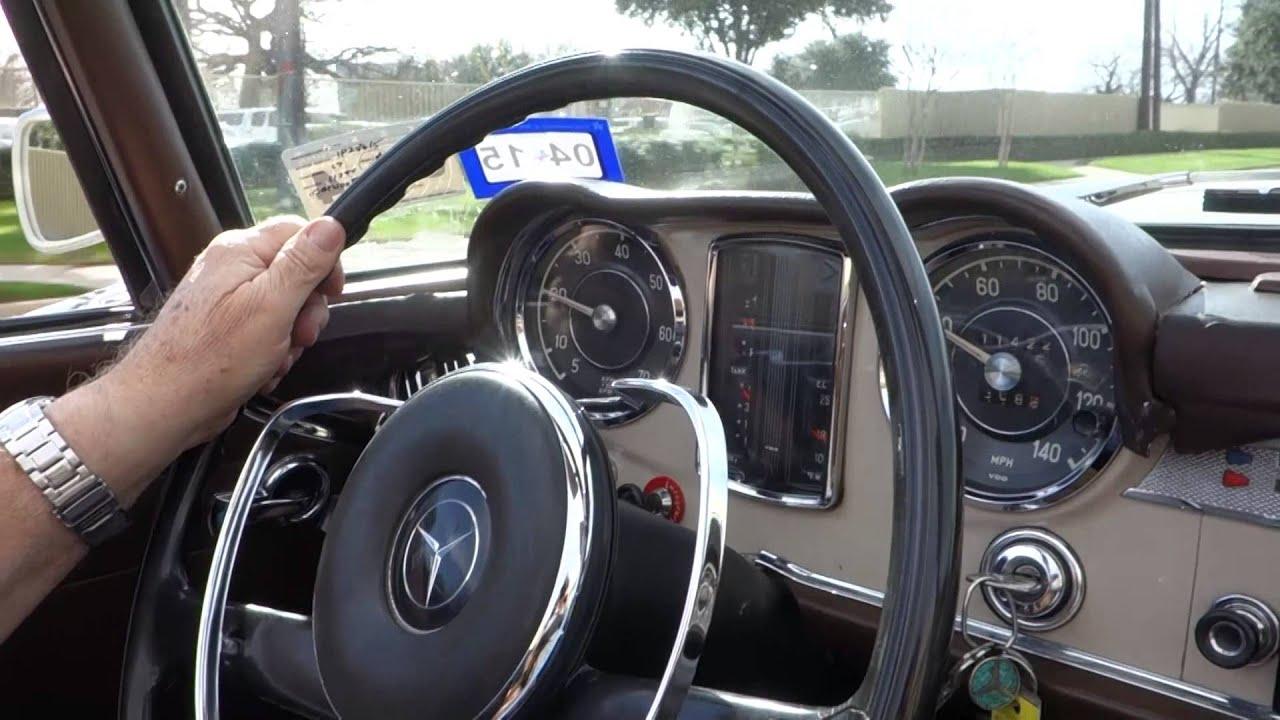1967 Mercedes-Benz 230SL Convertible - YouTube