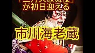 歌舞伎俳優の市川海老蔵(39)らが出演する「三月大歌舞伎」(27日...