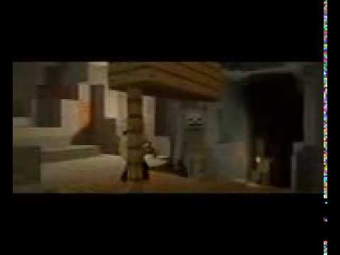 """♪ """"The Miner"""" - A Minecraft Parody Of The Fighter By Gym Class Heroes (Music Video)"""