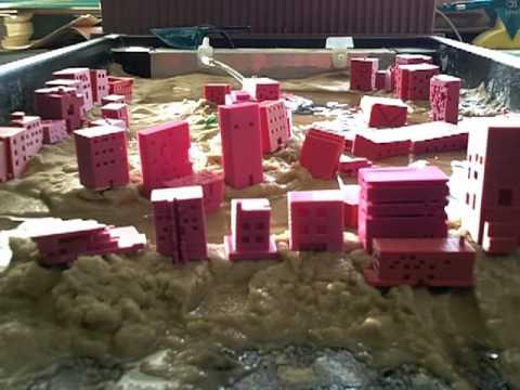 River erosion model youtube for Soil 3d model