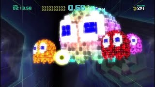 Pac-Man Championship Edition 2 - All Bosses (All Lives Collected, No Lives lost, No Bomb uses)