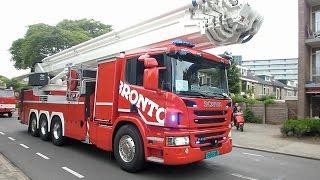 Brandweer auto parade – voor kinderen