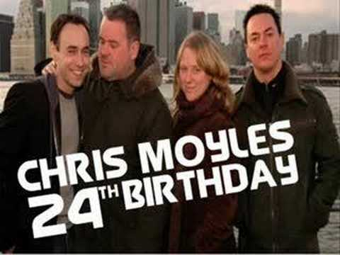 He Wakes Up the World - Chris Moyles Birthday song