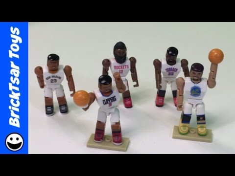 NBA Basketball All Star Figures Steph Curry, Harden, Davis, Paul, Durant
