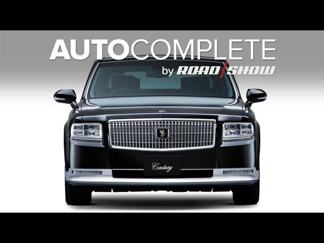 Autocomplete 2018 Toyota Crown For Tokyo Motor Show