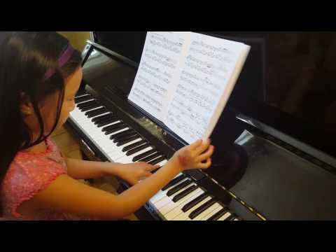 Dance of the Marionettes - Piano  - Sunny Wu ( Age  9 )