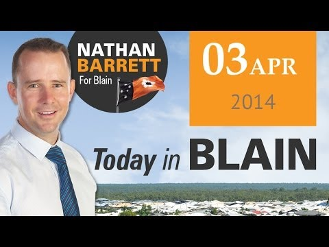 Today in Blain - Power & Water NOT for sale!
