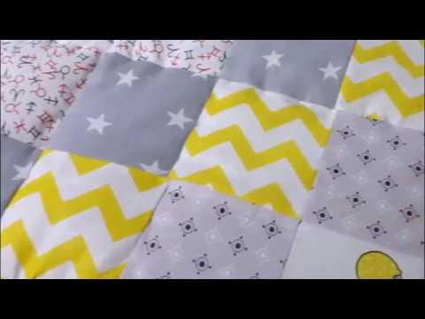 Как сшить лоскутное одеяло для новорожденного