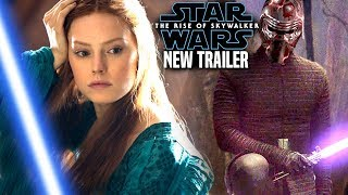 The Rise Of Skywalker New Trailer HUGE News Revealed! (Star Wars Episode 9 Trailer)