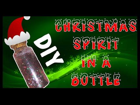 DIY Christmas Spirit In A Bottle Charm!