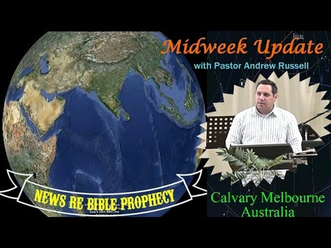 MIDWEEK PROPHECY UPDATE APR 26, 2017 - NORTH KOREA WARNS GREAT WAR IS COMING