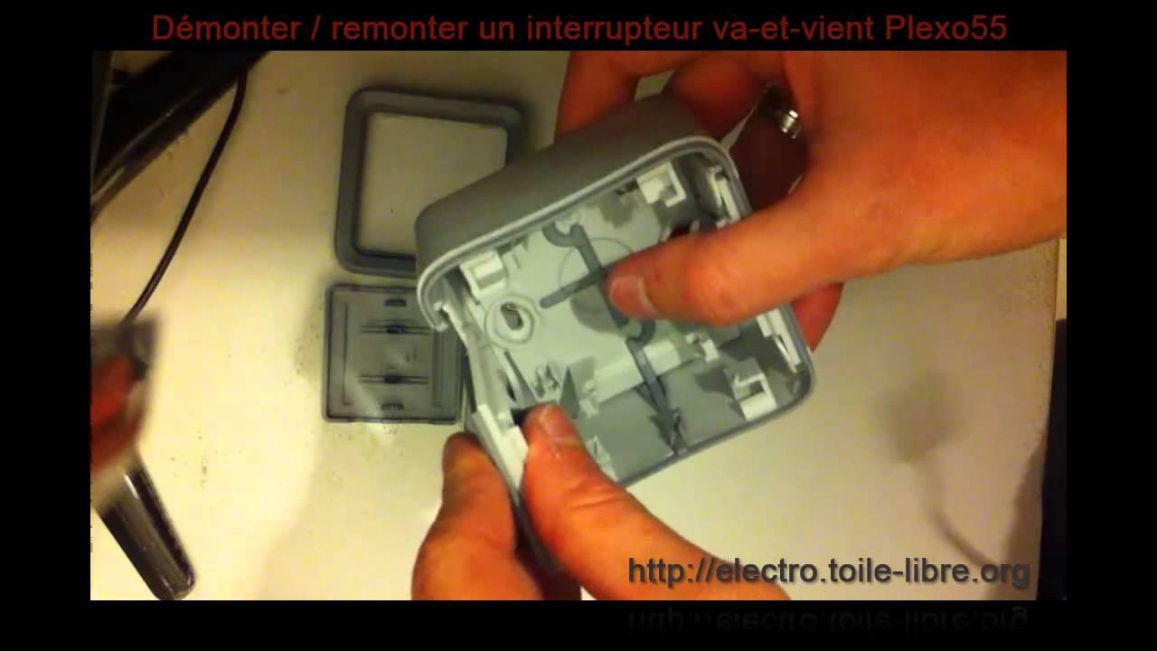D U00e9monter  Remonter Un Interrupteur Va